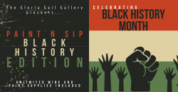The image for Paint and Sip - Black History Month Edition